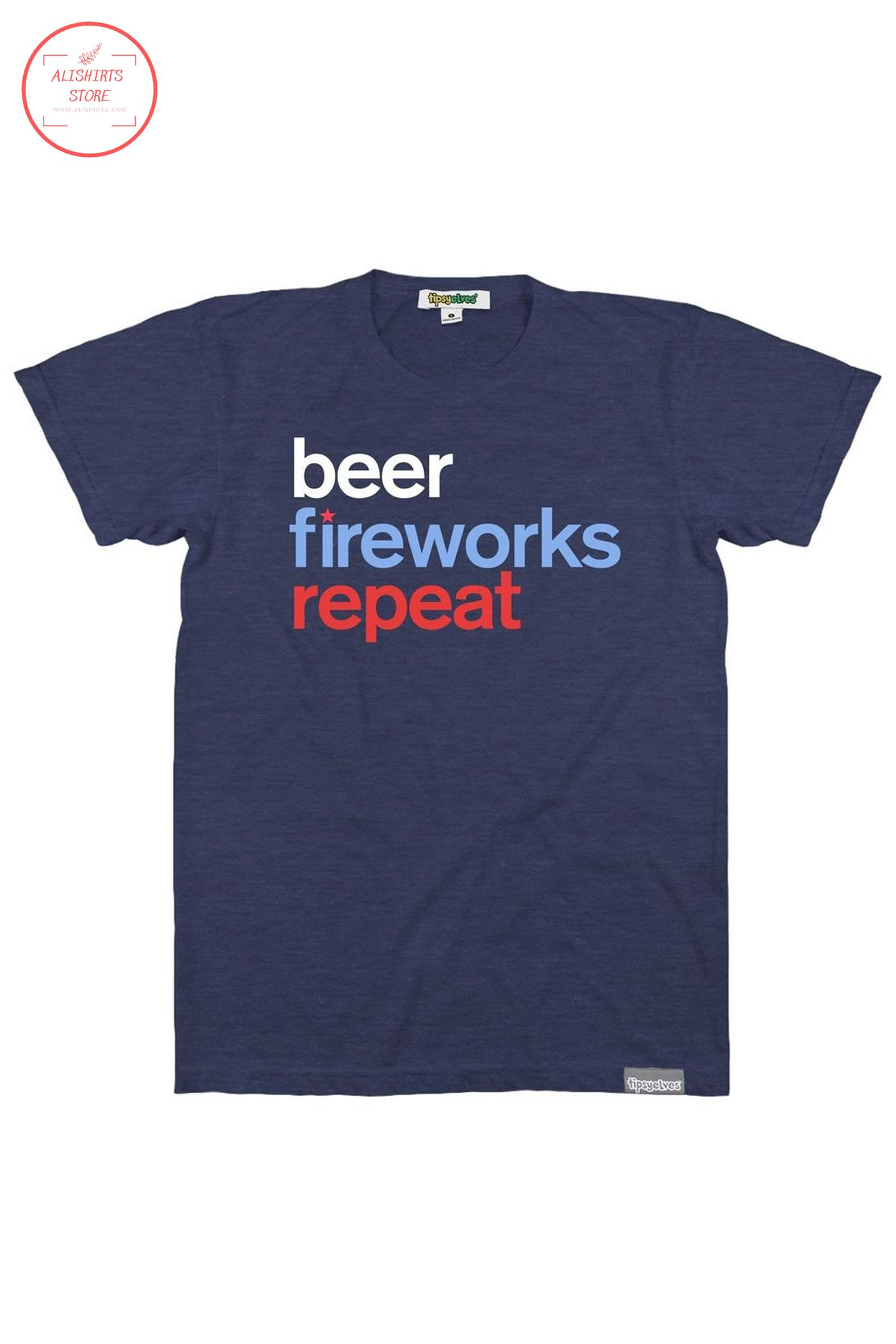 Funny beer shirt 4th of july edition