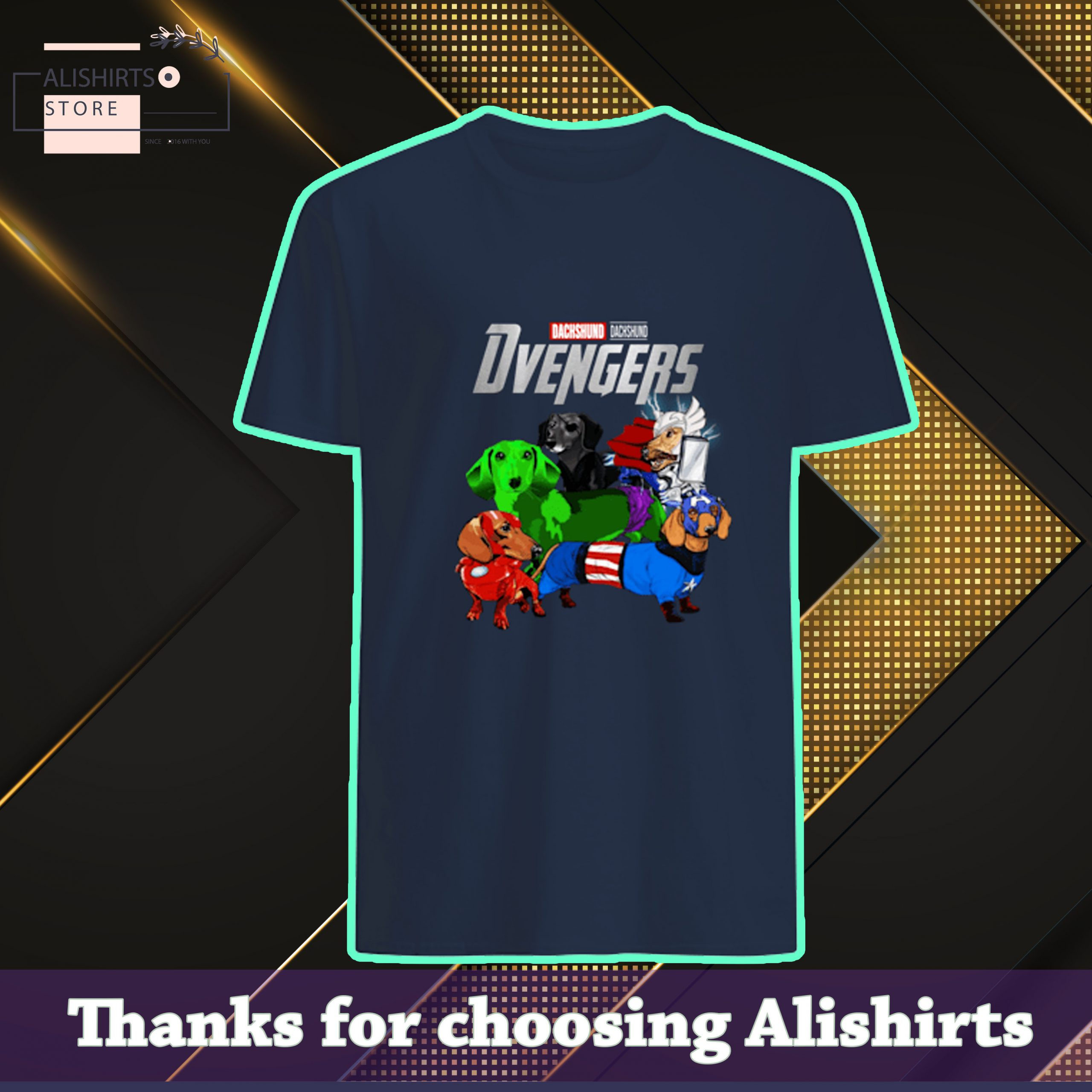 Marvel Avengers Endgame Dachshund dog Avengers avengers shirt