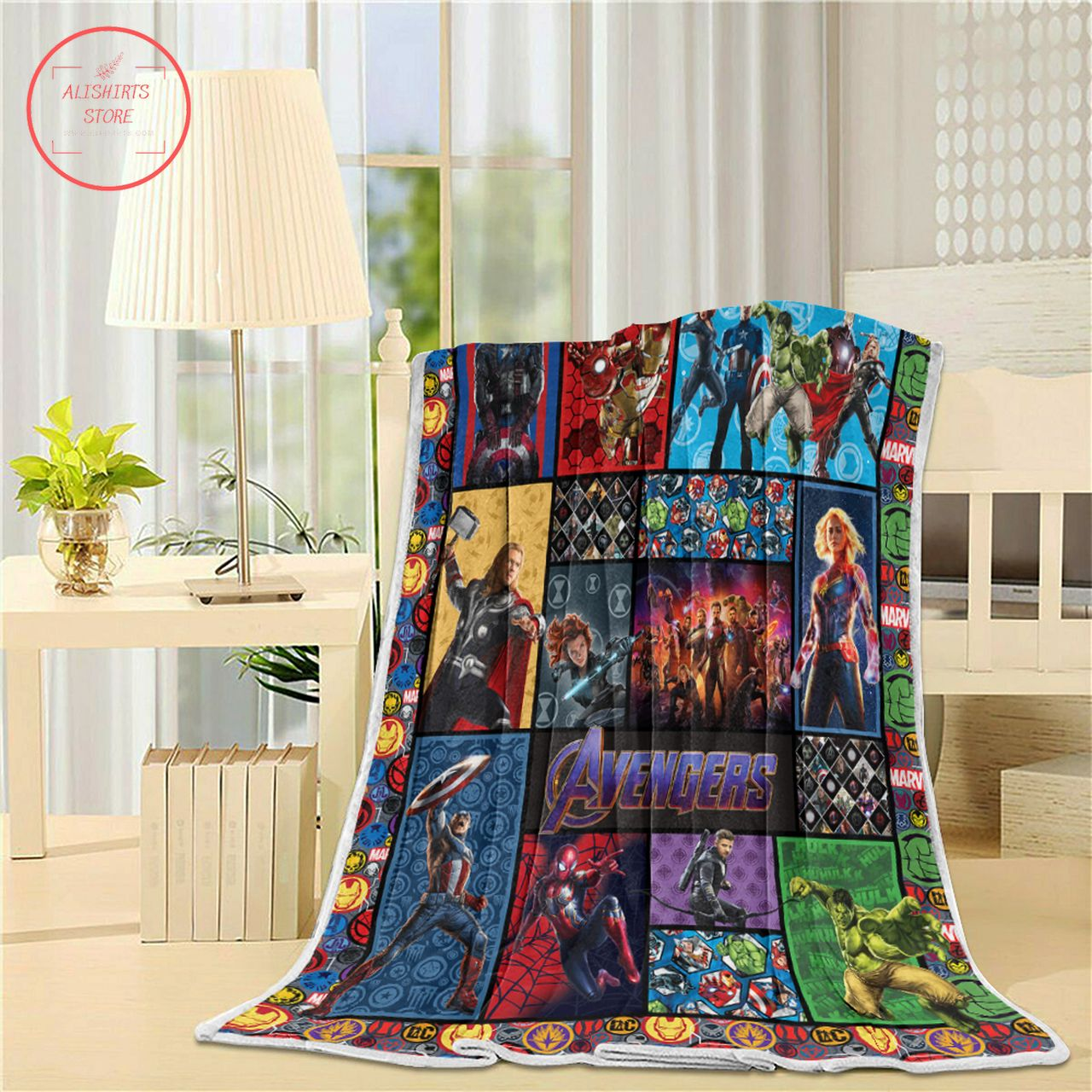Avenger Fleece Bedding Set