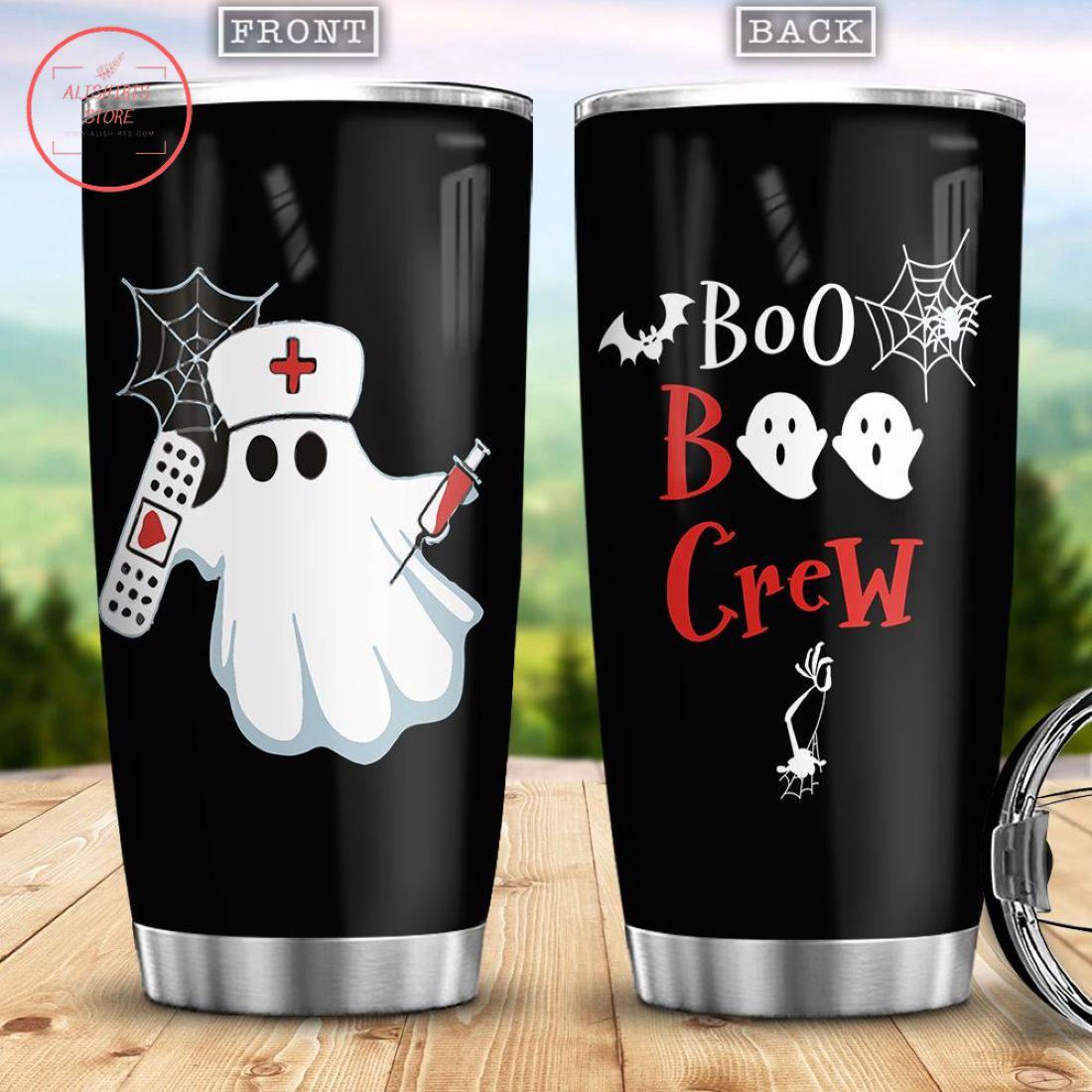 Boo Boo Crew Happy Halloween Stainless Steel Tumbler