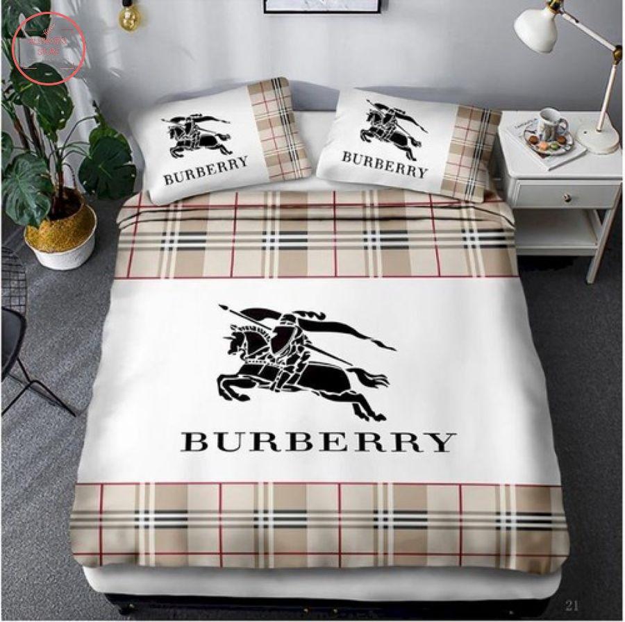 Burberry Luxury Brand Bedroom Set Bedding Sets