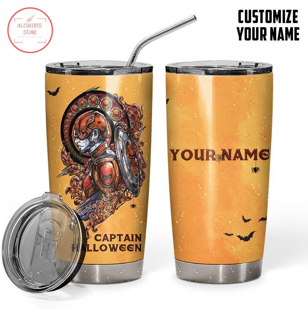 Captain Halloween Personalized Vacuum Insulated Tumbler