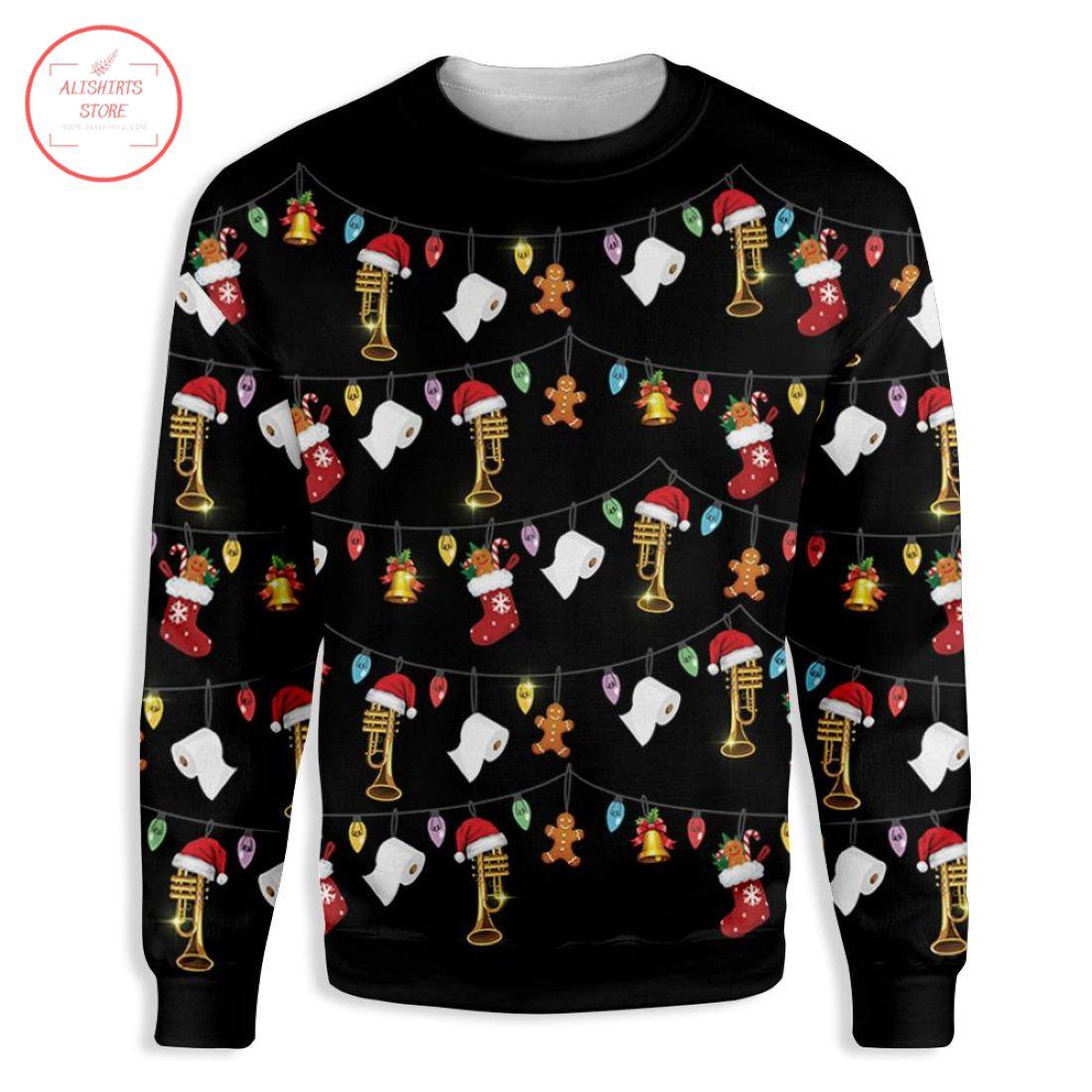 Christmas Trumpet Christmas Sweater