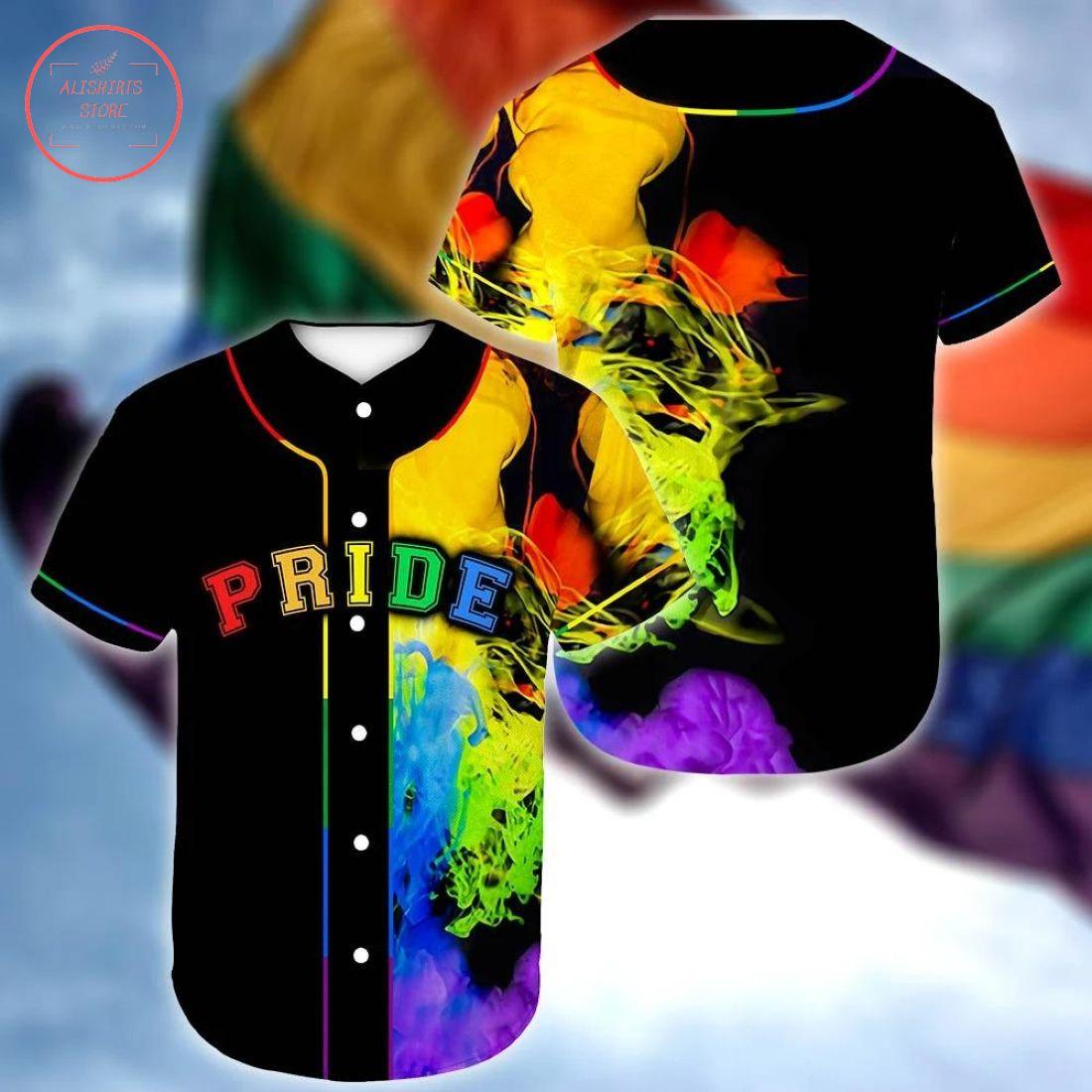 Custom LGBT Pride Queer Baseball Jersey