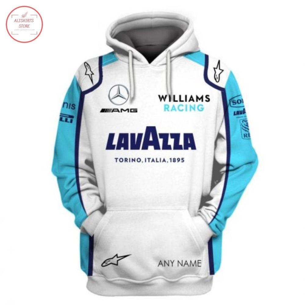 Custom Williams Racing Mercedes AMG Lavazza Hoodie
