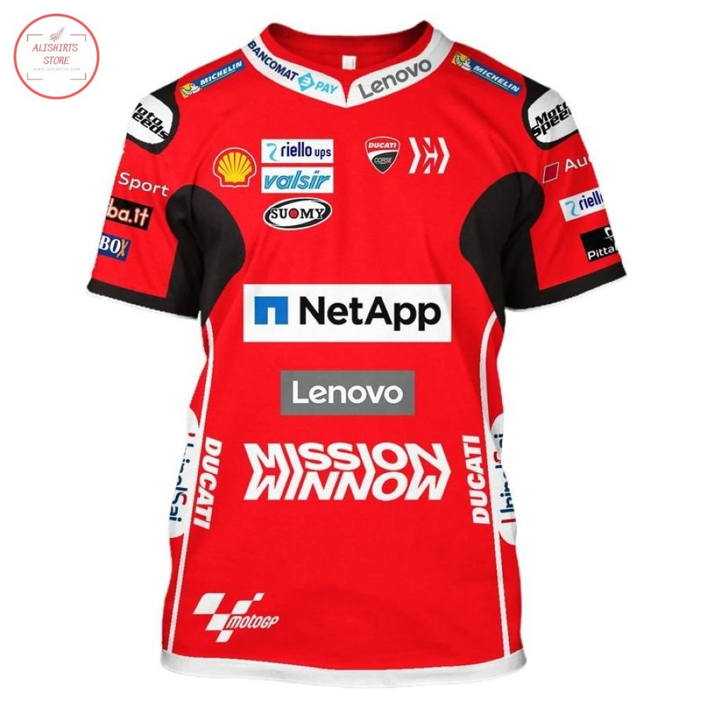 Ducati MotoGP Lenovo Racing Shirt and Hoodie
