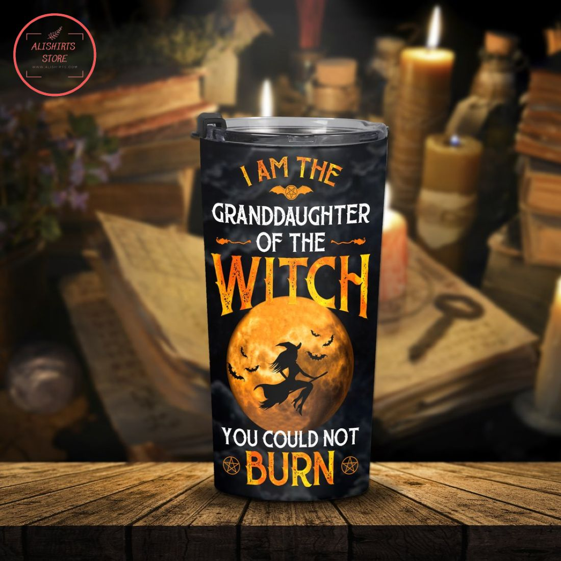 Granddaughter of the Witch in Halloween Tumbler