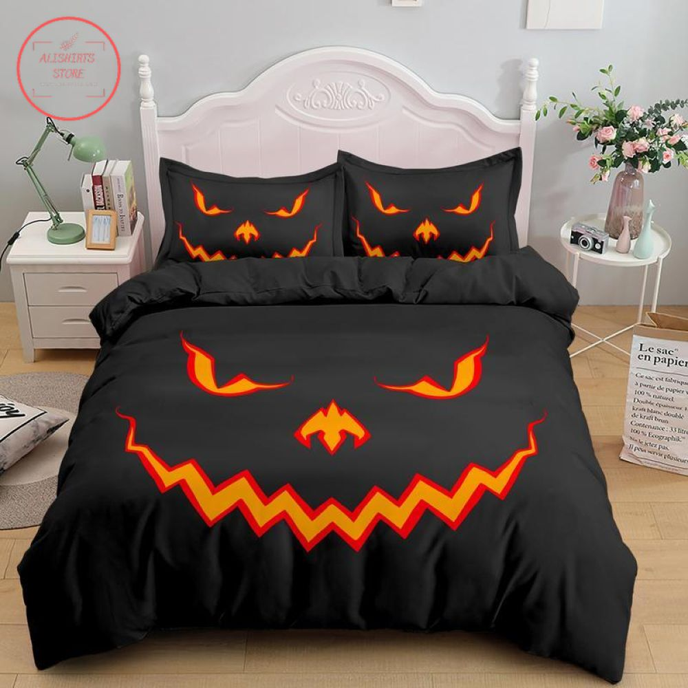 Halloween Jack o Lantern Pumpkin Blanket