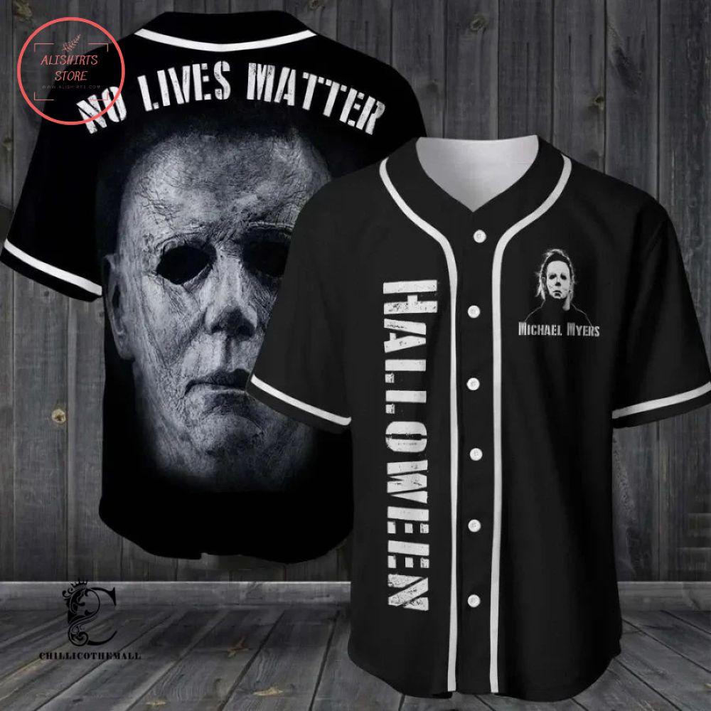 Halloween Michael Myers Baseball Jersey