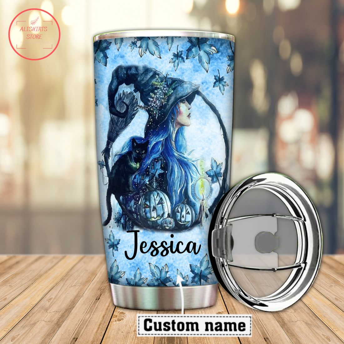 Halloween Princesses Be A Witch Personalized Tumbler