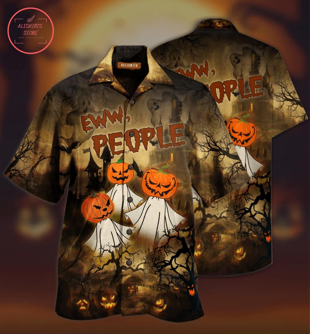 Hawaiian Shirts Halloween Eww People