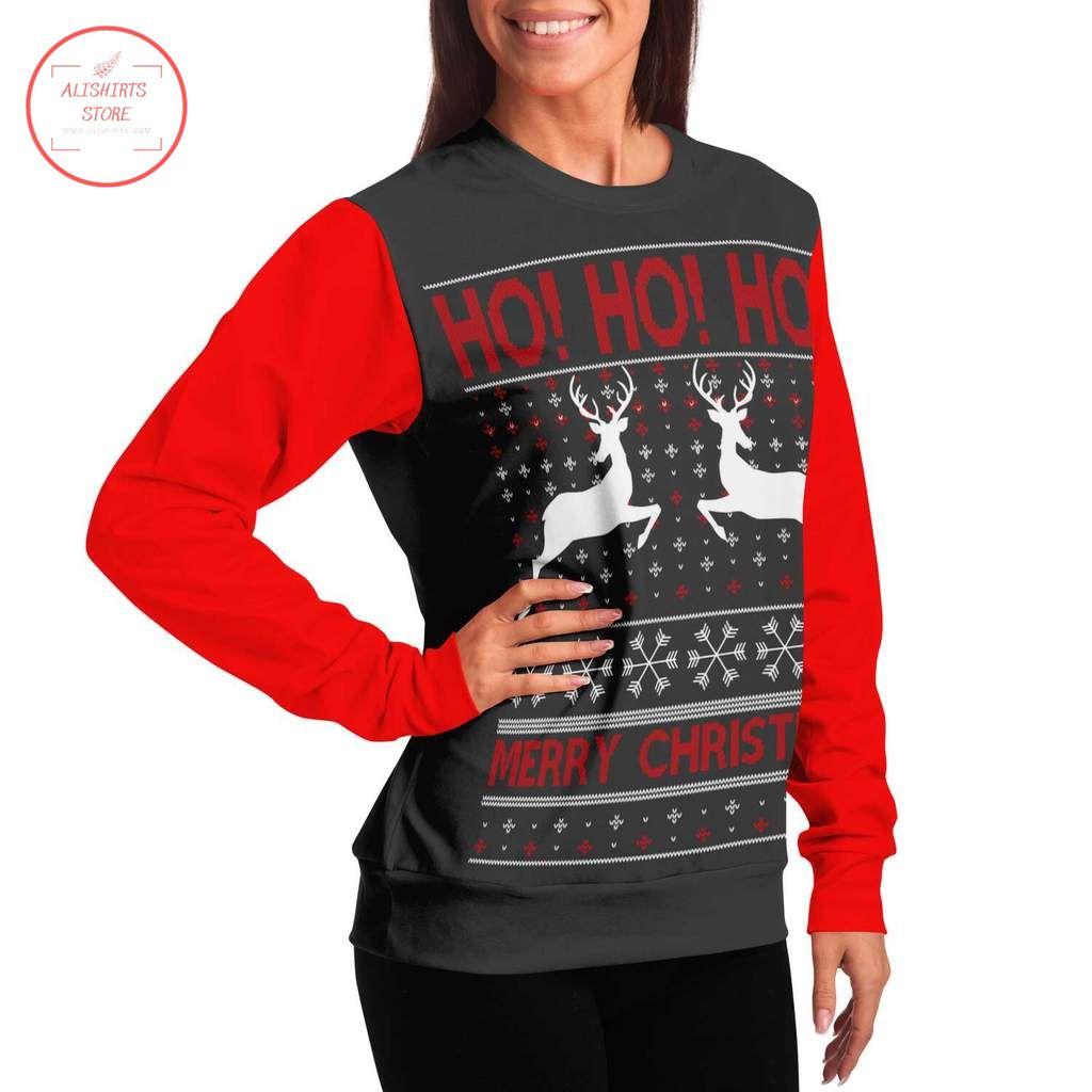 Ho Ho Merry Christmas ugly Christmas Sweater