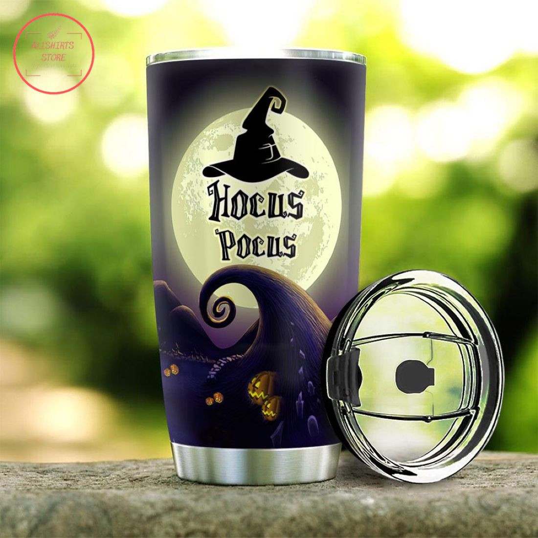 Hocus Pocus Witch Crew Halloween Tumbler