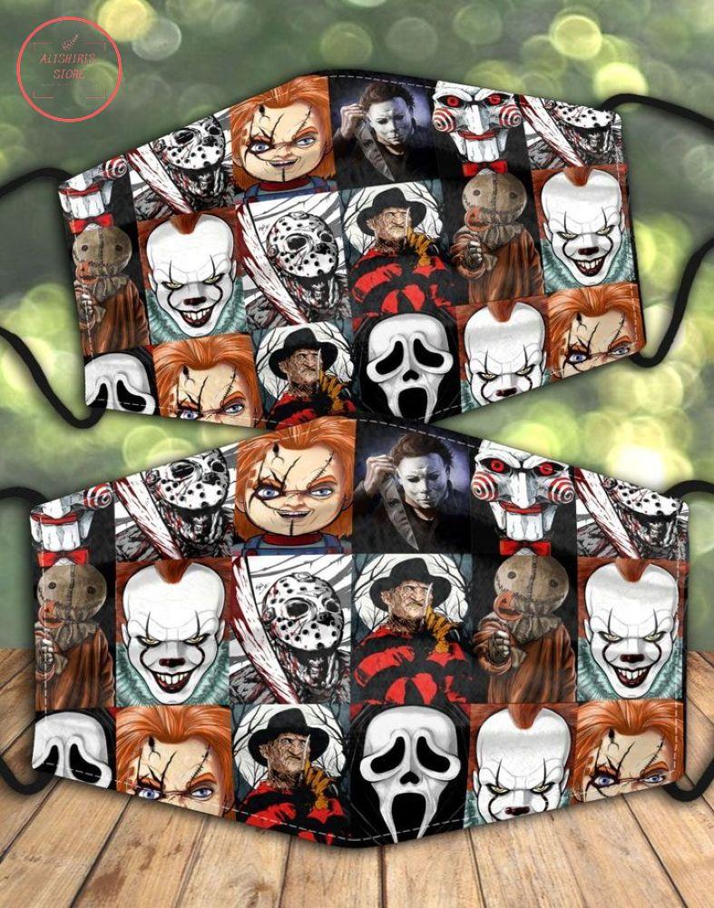 Horror Scary Evil Face Mask Halloween