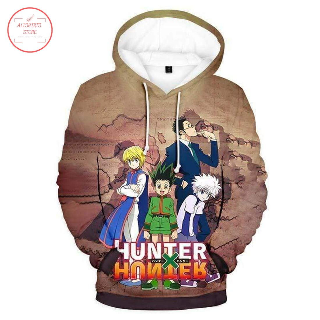 Hunter x Hunter Japanese Edition Hoodie