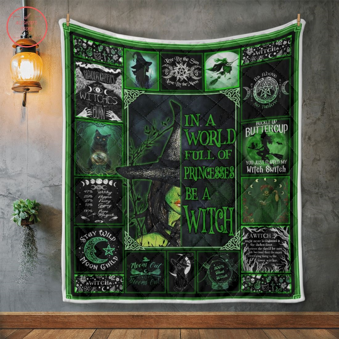 In A World Full Of Princesses Halloween Blanket