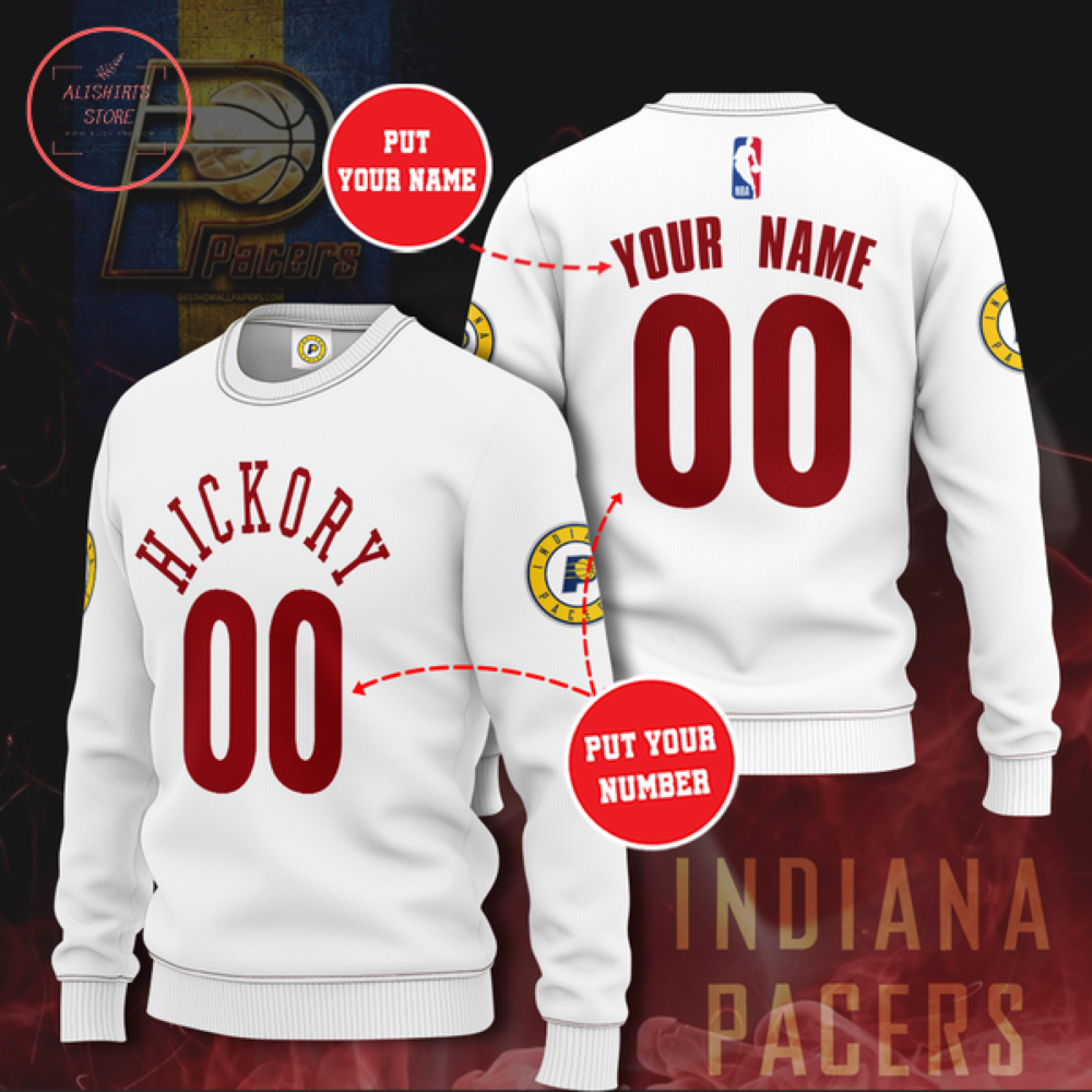 Indiana Pacers Personalized Sweater