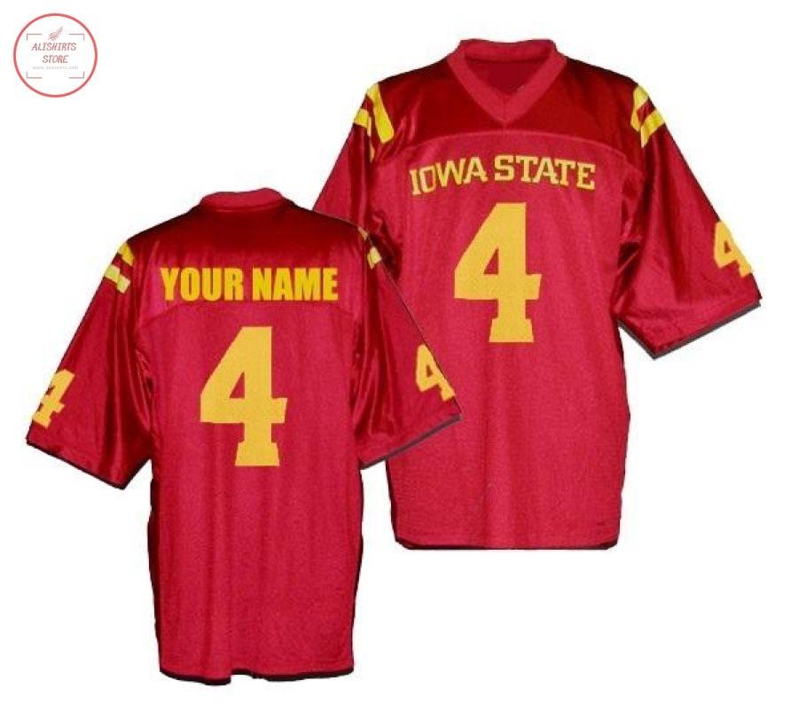 Iowa State Cyclones Custom CollegeFootball Jersey