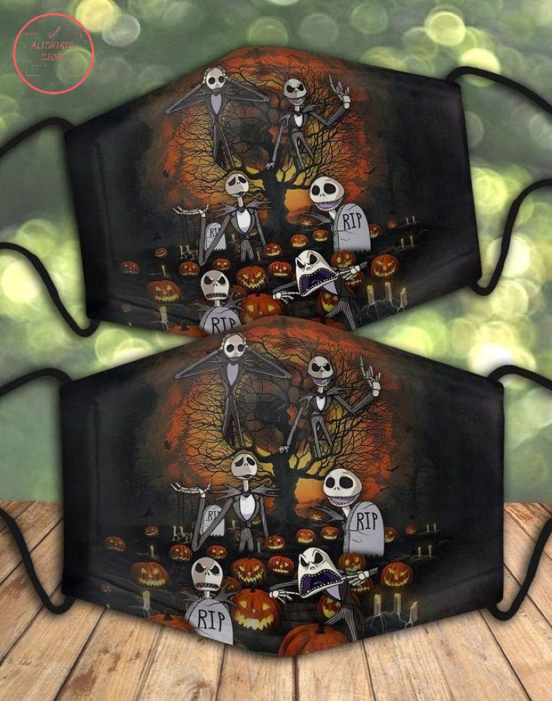 Jack Skellington Halloween Night Face Mask