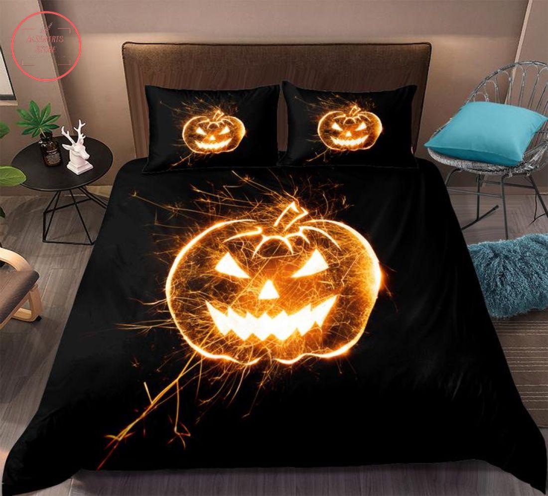 Jack o Lantern Halloween Bedding Set