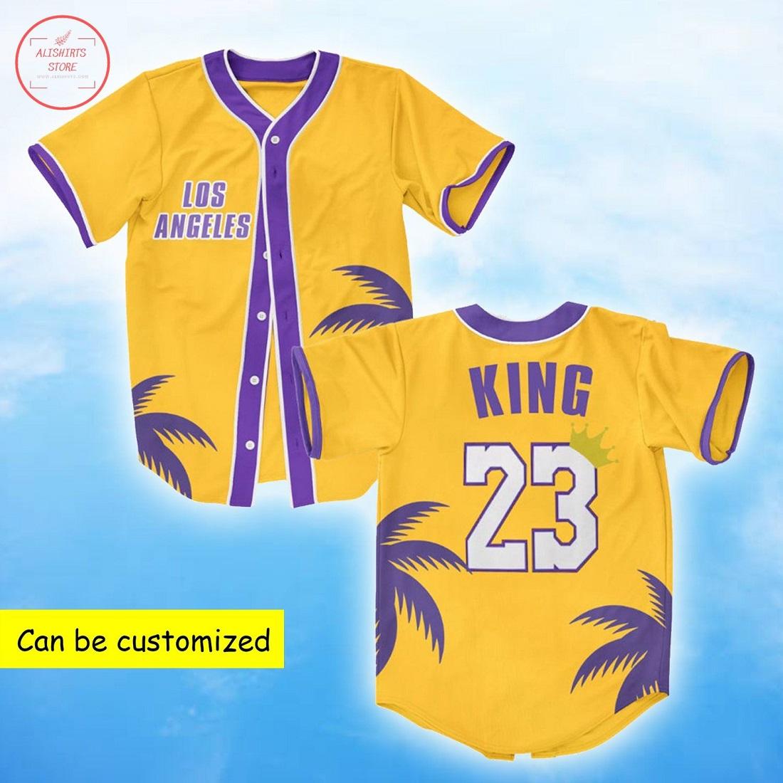 King 23 Of Los Angeles Baseball Jersey