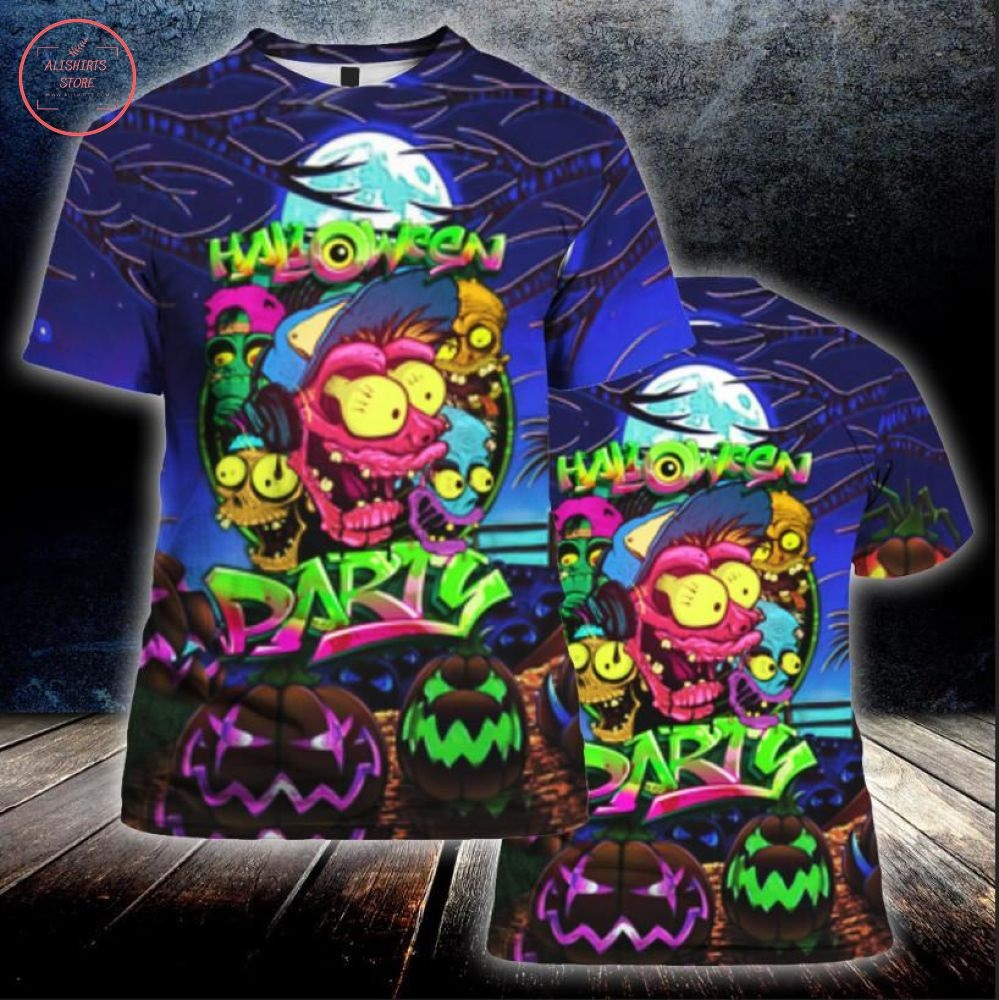 Let's Enjoy Halloween Party Tonight Shirt and Hoodie