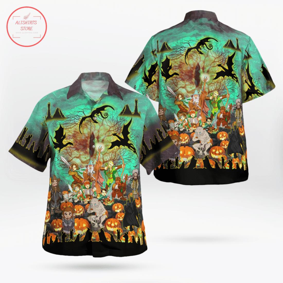 Lord Of The Ring Halloween Hawaiian Shirt