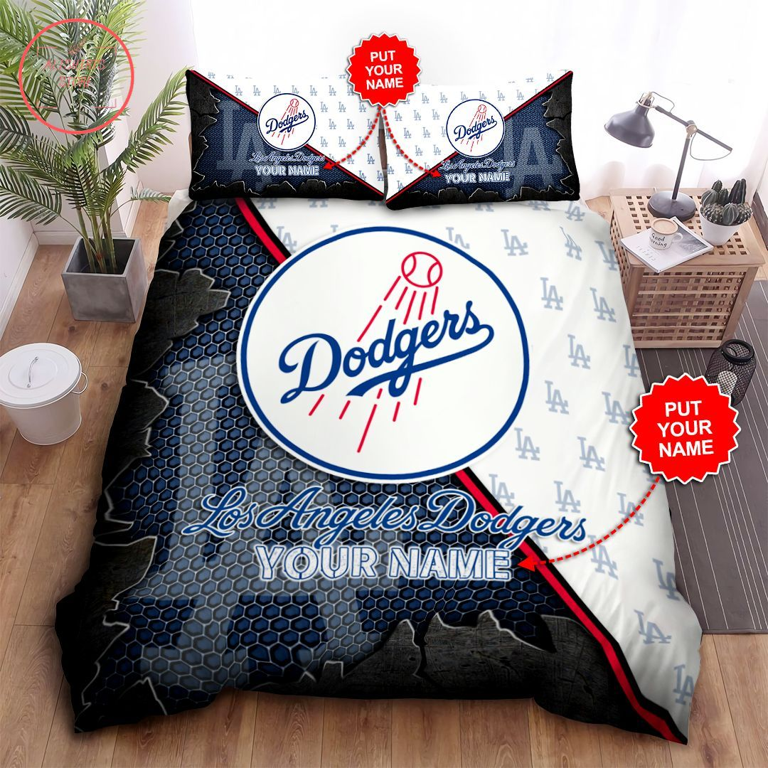 Los Angeles Dodgers Personalized Bedroom Sets