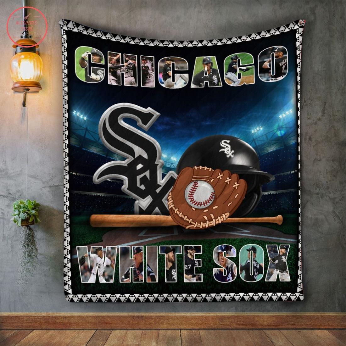 MLB Chicago White Sox Quilt Blanket