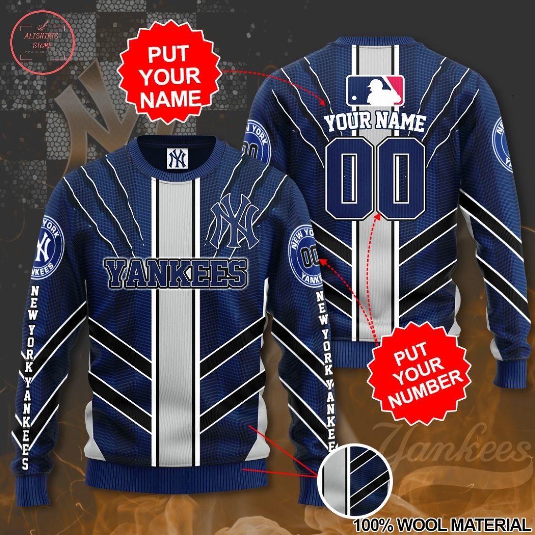 MLB New York Yankees Personalized 3D Sweatshirt