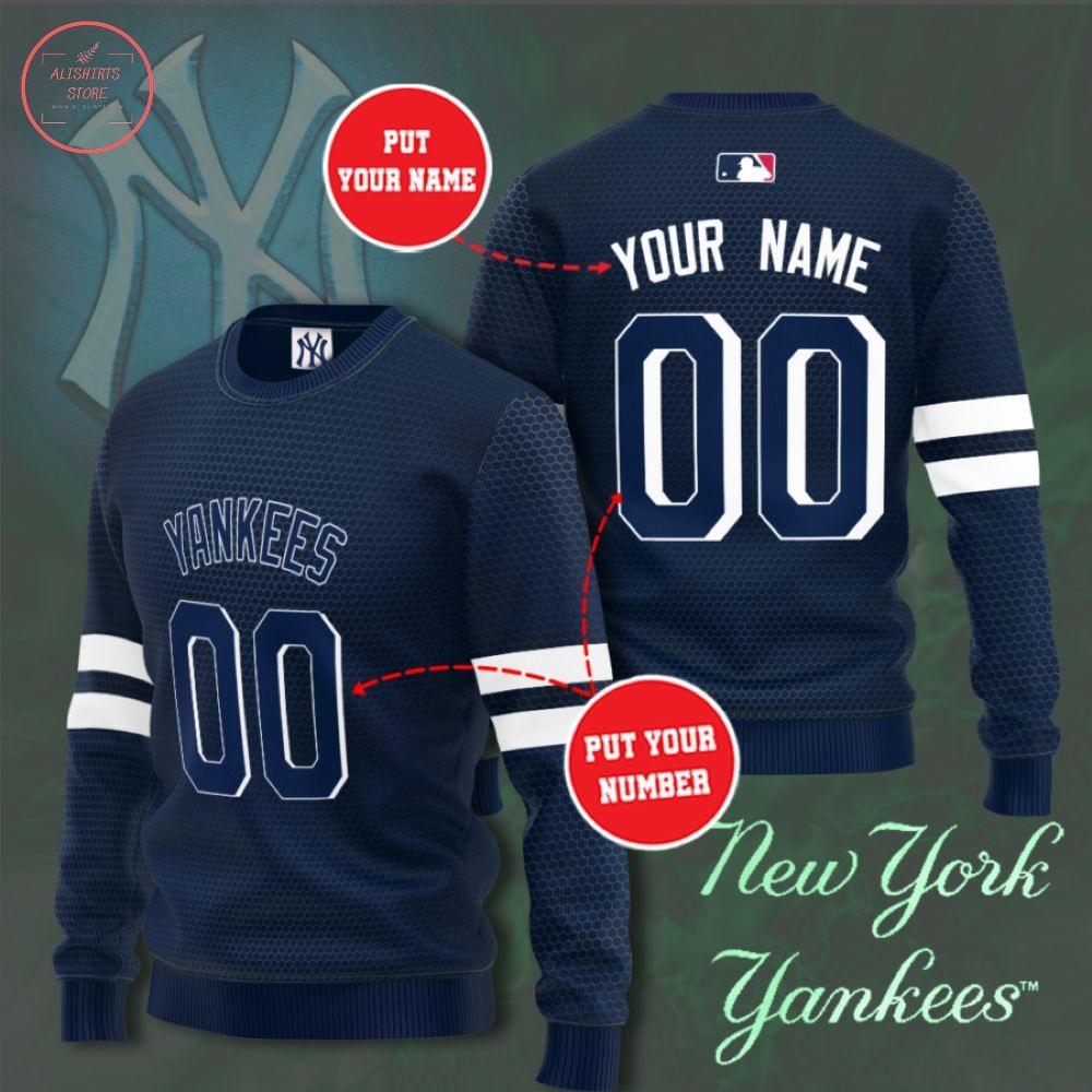 MLB New York Yankees Personalized Sweater