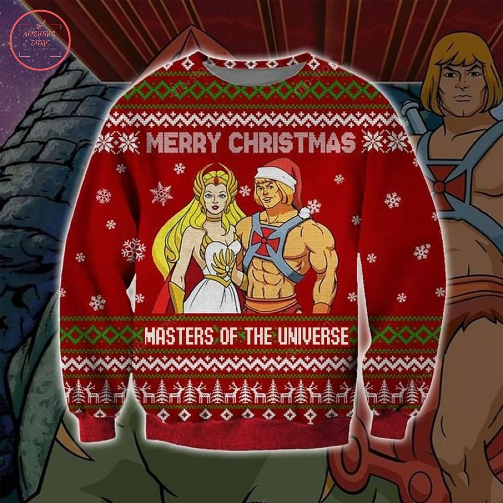 Masters Of Universe Merry Christmas Ugly Sweater