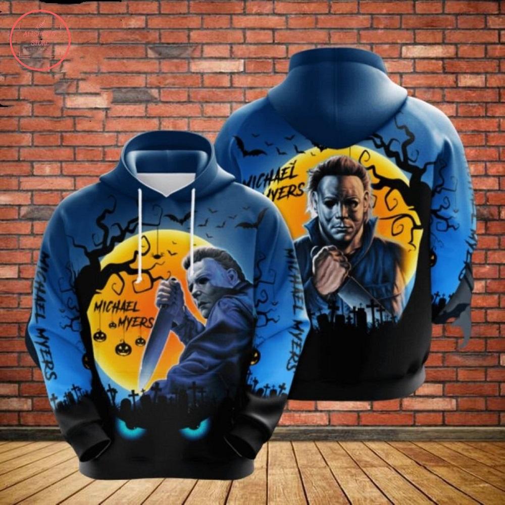 Michael Myers Gift For Fan Halloween Hoodie