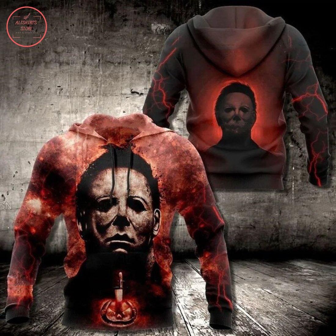 Michael Myers Horror Halloween Hoodie