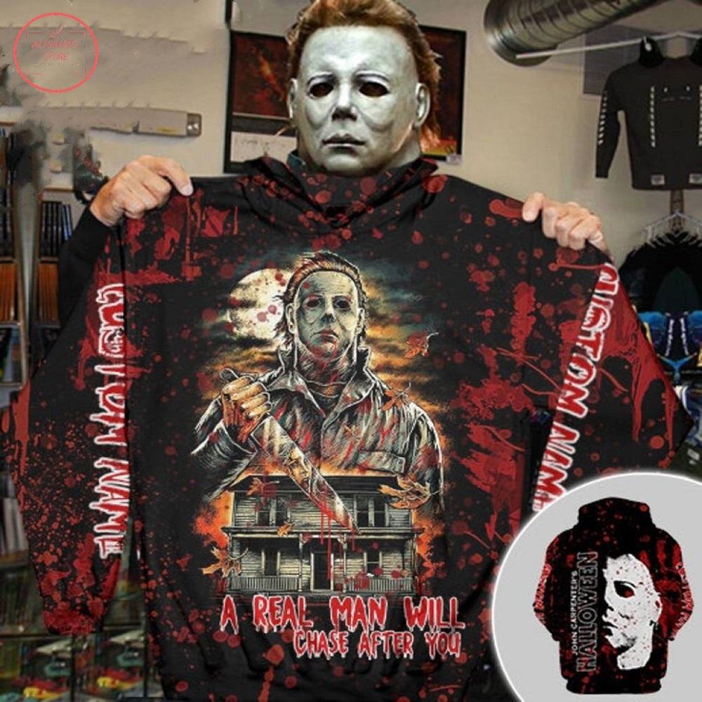 Michael Myers a real man Halloween Hoodie