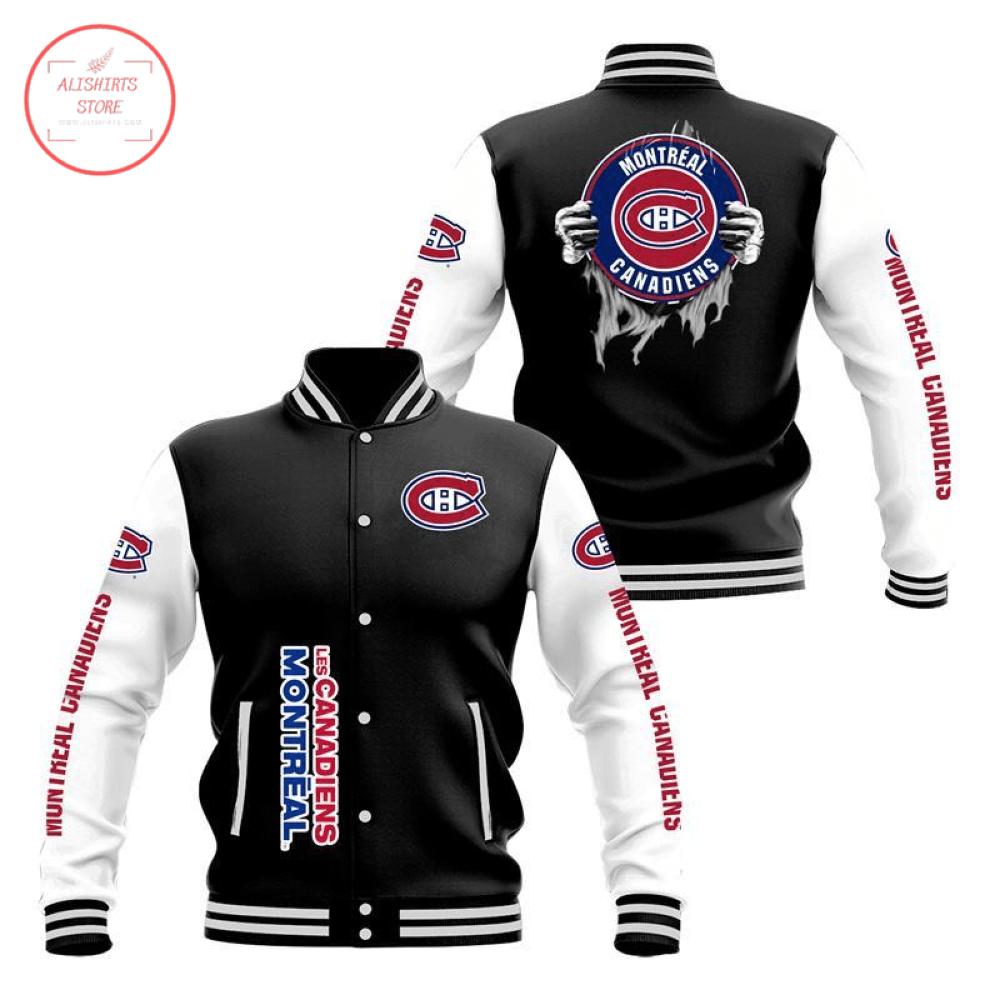 Montréal Canadiens 3D Baseball Jacket