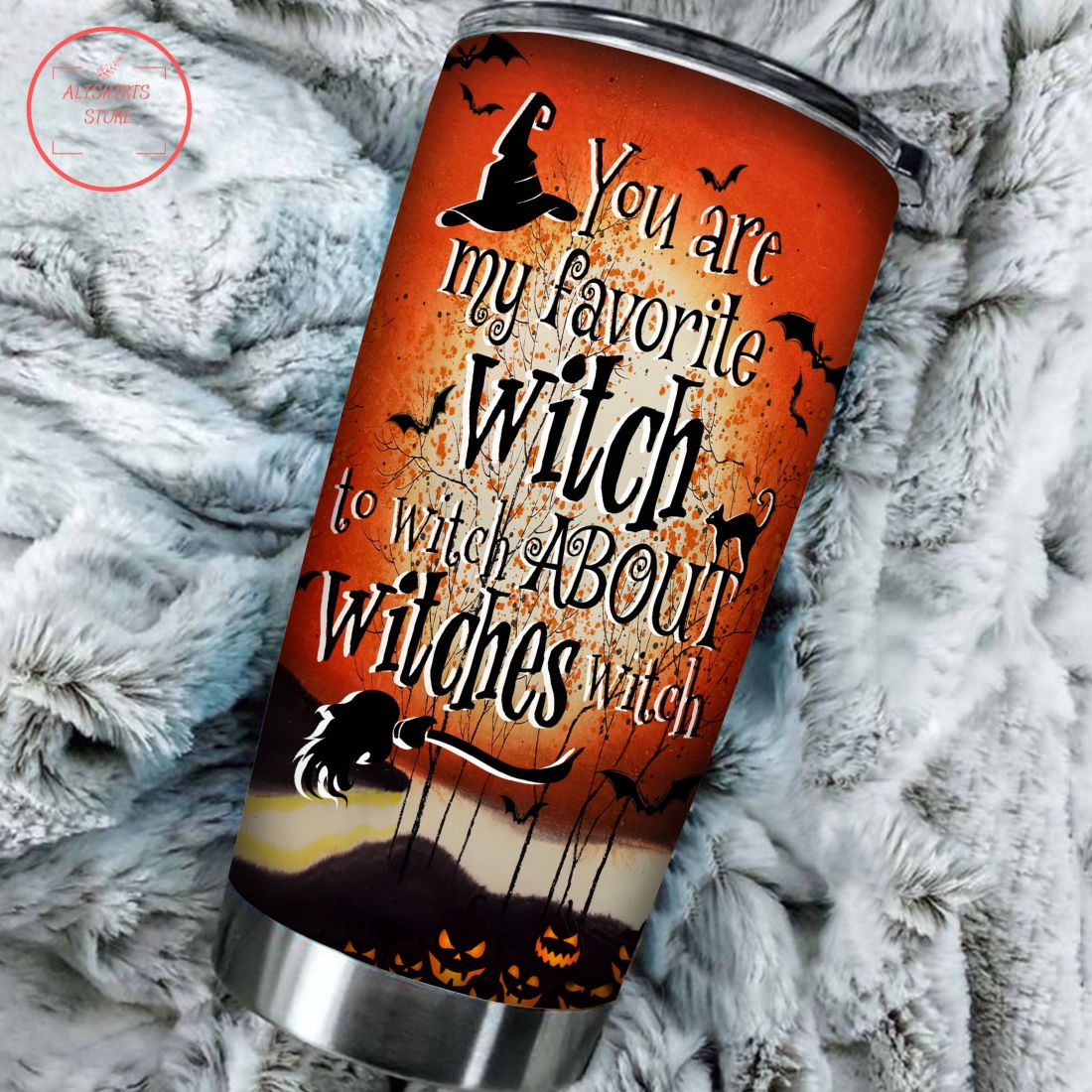 My favorite witch to witch Personalized Halloween Tumbler