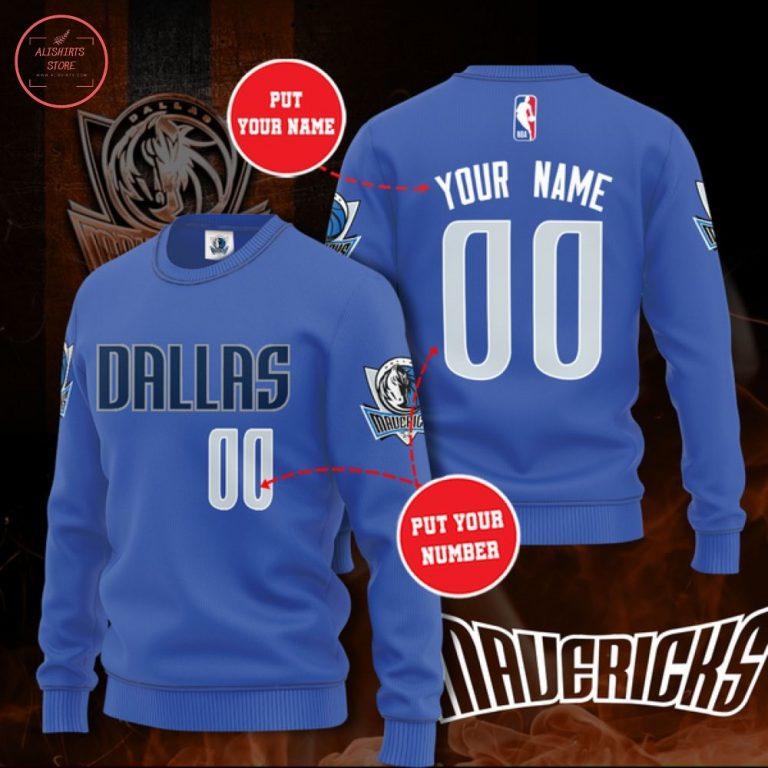 NBA Dallas Mavericks Personalized Sweater