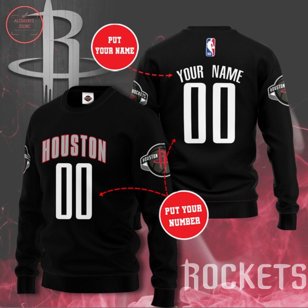 NBA Houston Rockets Team Personalized Sweater