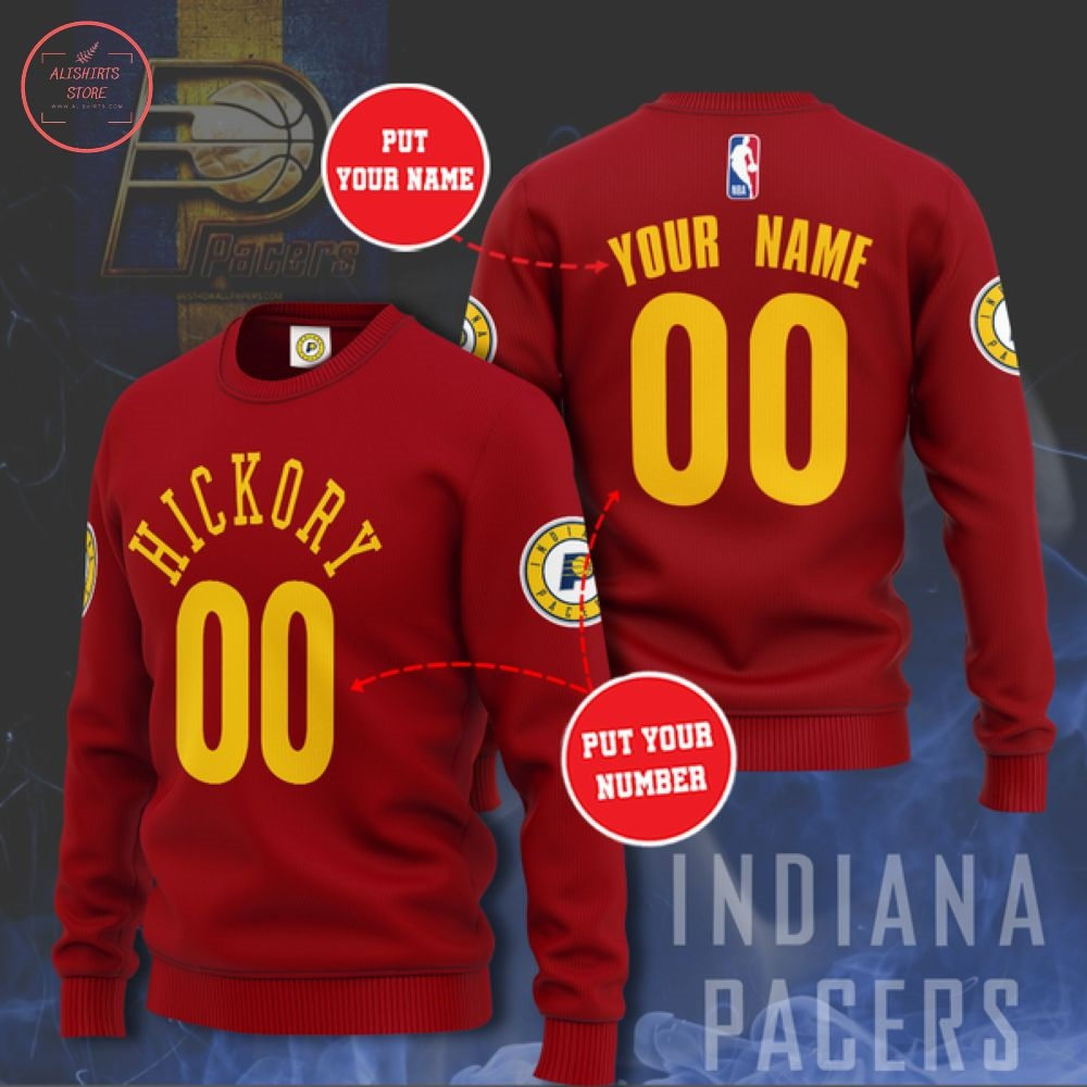 NBA Indiana Pacers Team Personalized Sweater