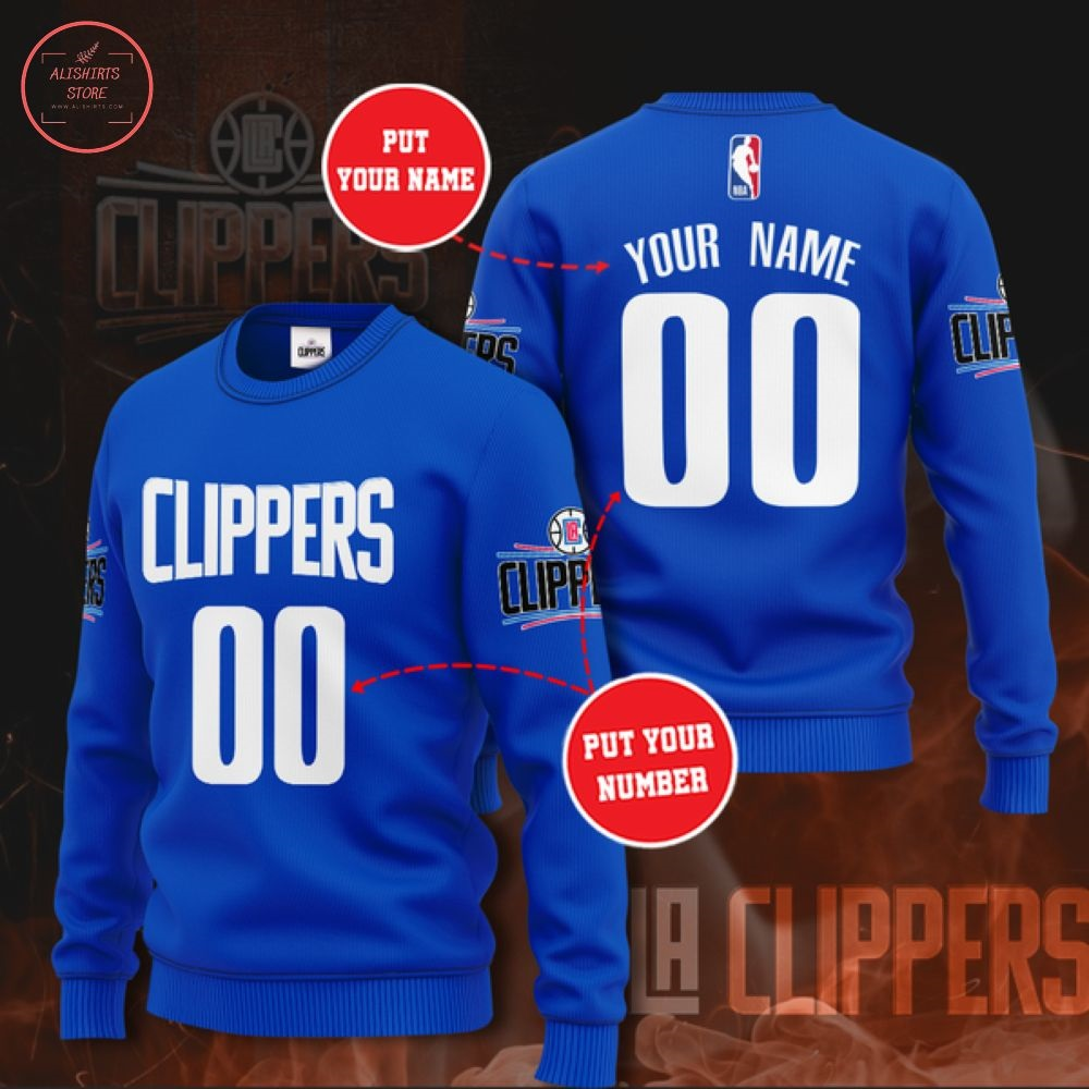 NBA Los Angeles Clippers Personalized Sweater