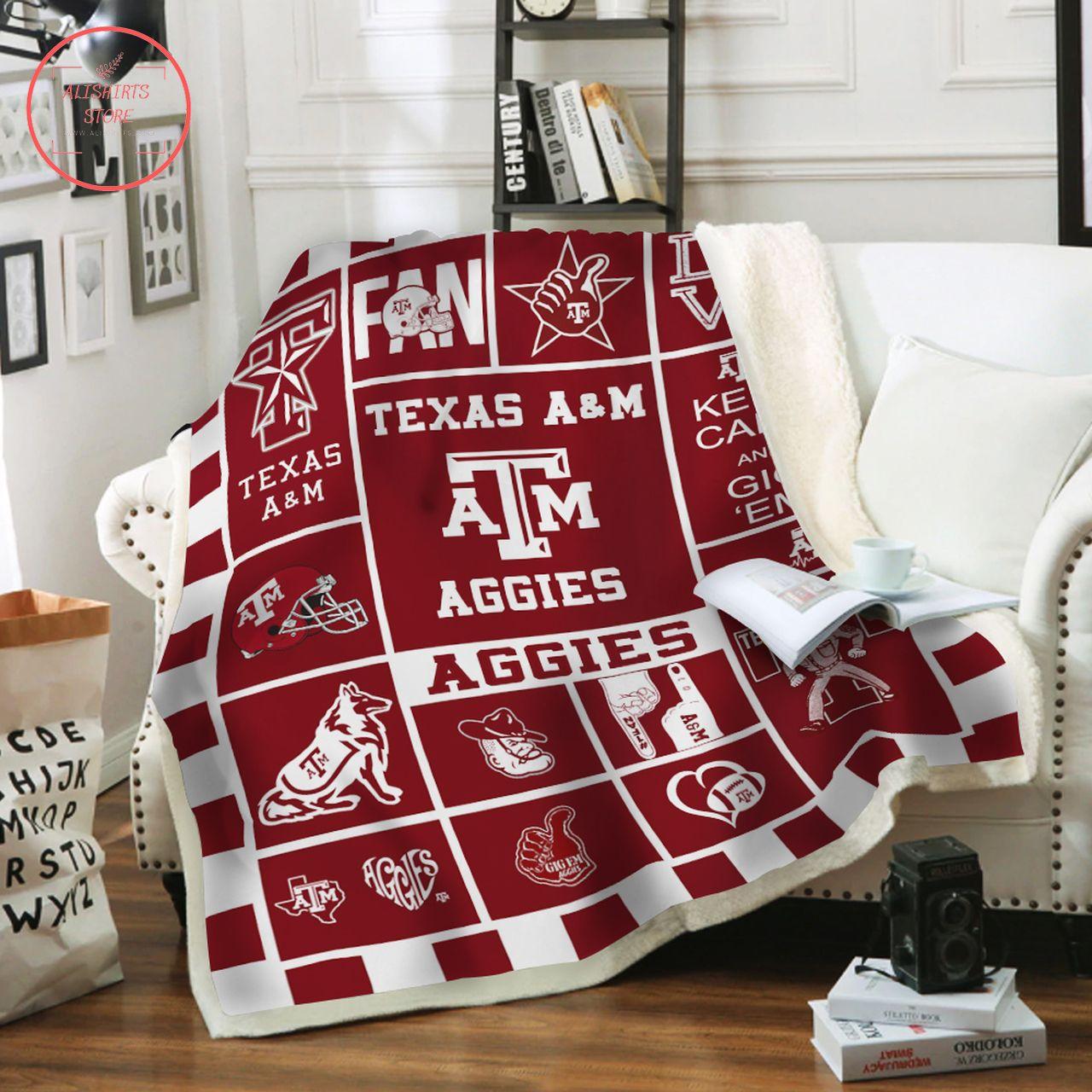 NCAA 7 Texas AM Aggies Bedding Set