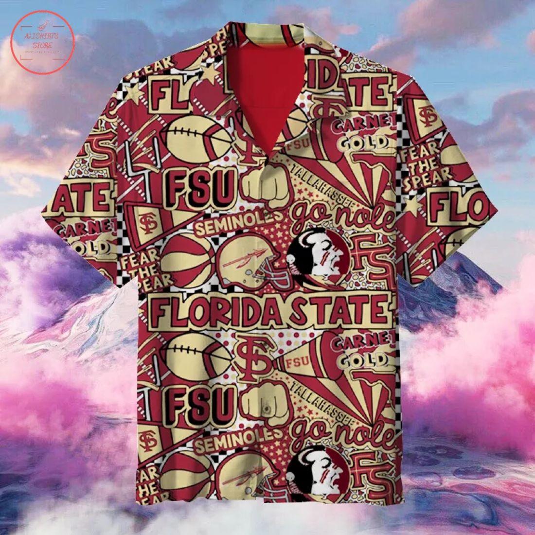NCAA Florida State Seminoles Hawaiian Shirt