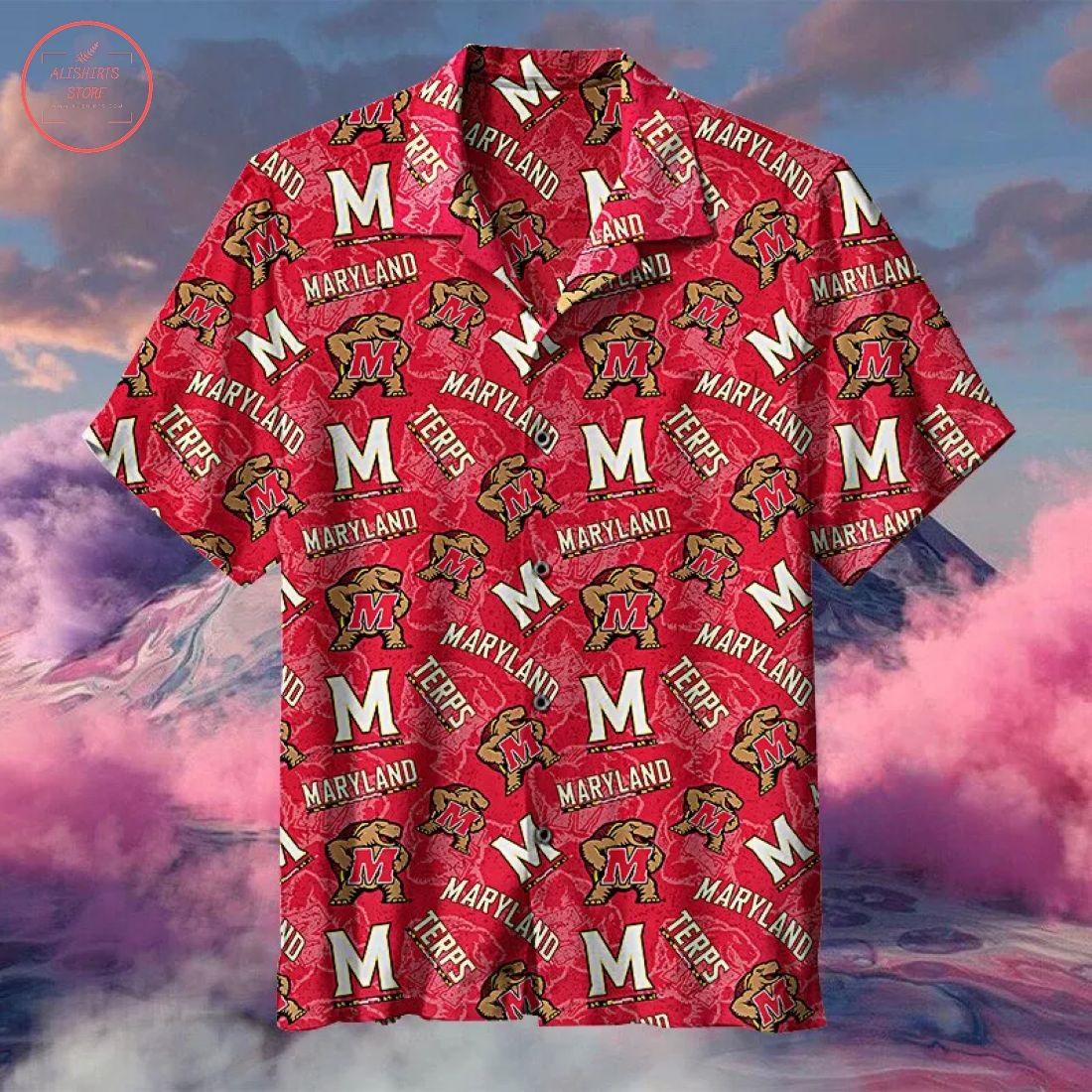 NCAA Maryland Terrapins Hawaiian Shirt