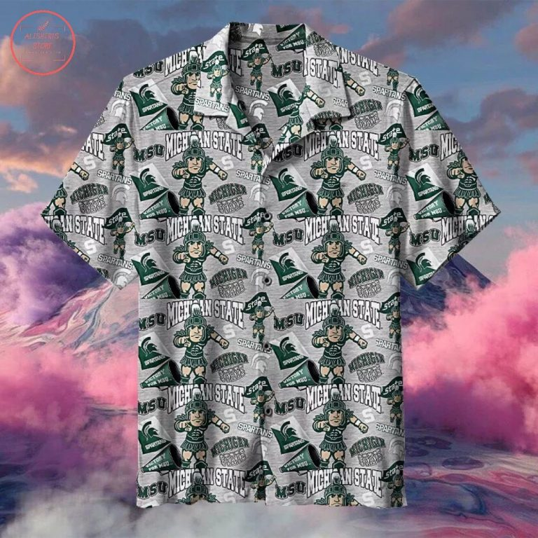 NCAA Michigan State Spartans Hawaiian Shirt