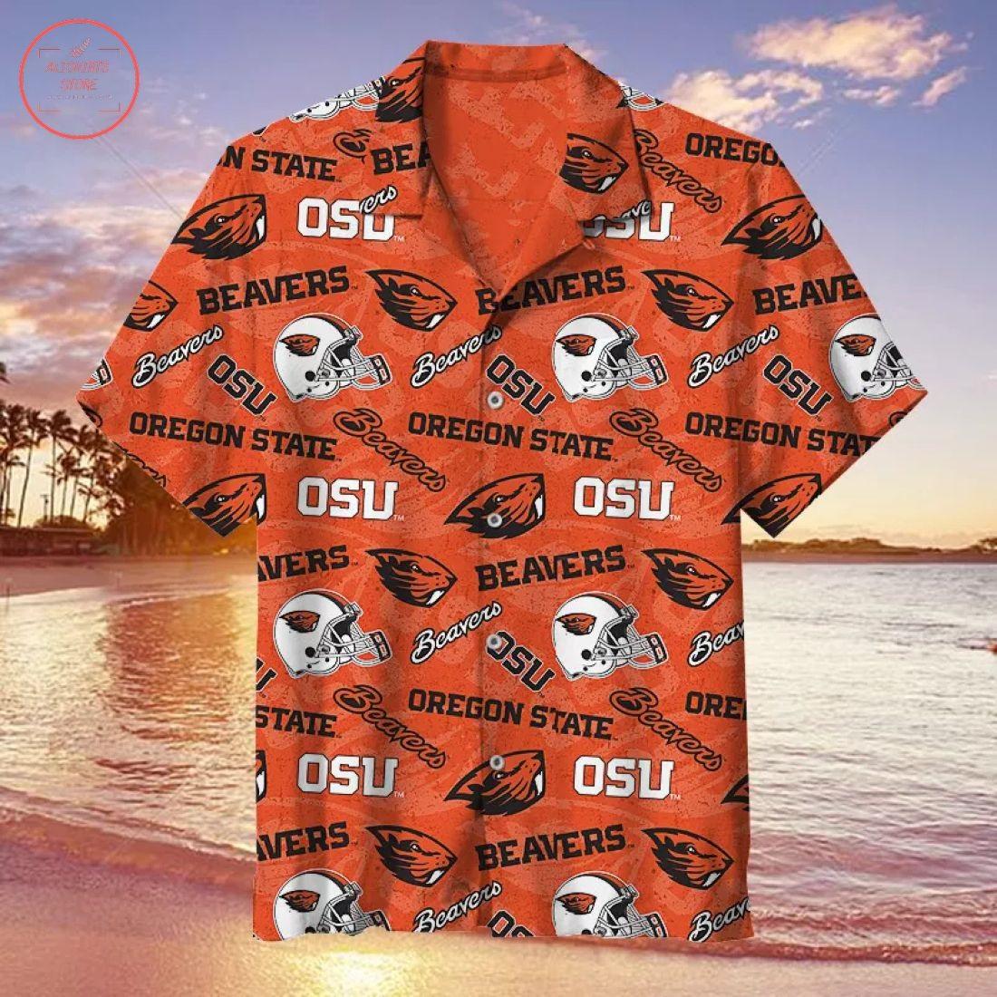 NCAA Oregon State Beavers Hawaiian Shirt