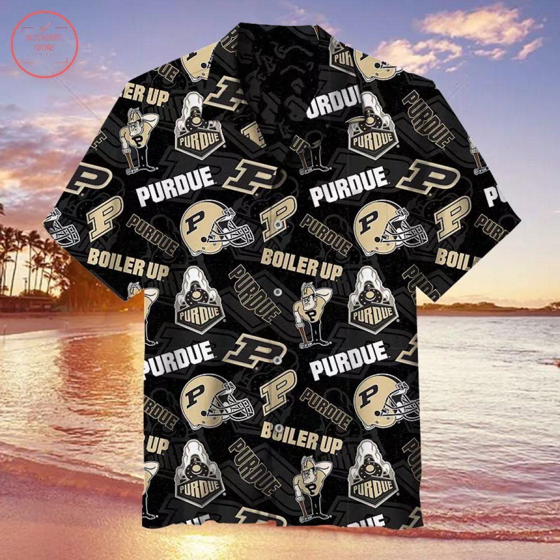 NCAA Purdue Boilermakers Hawaiian Shirt
