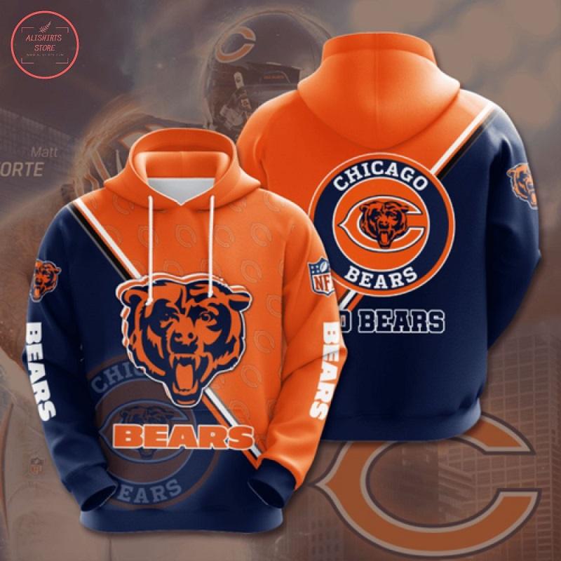 NFL Chicago Bears Hoodie 3D
