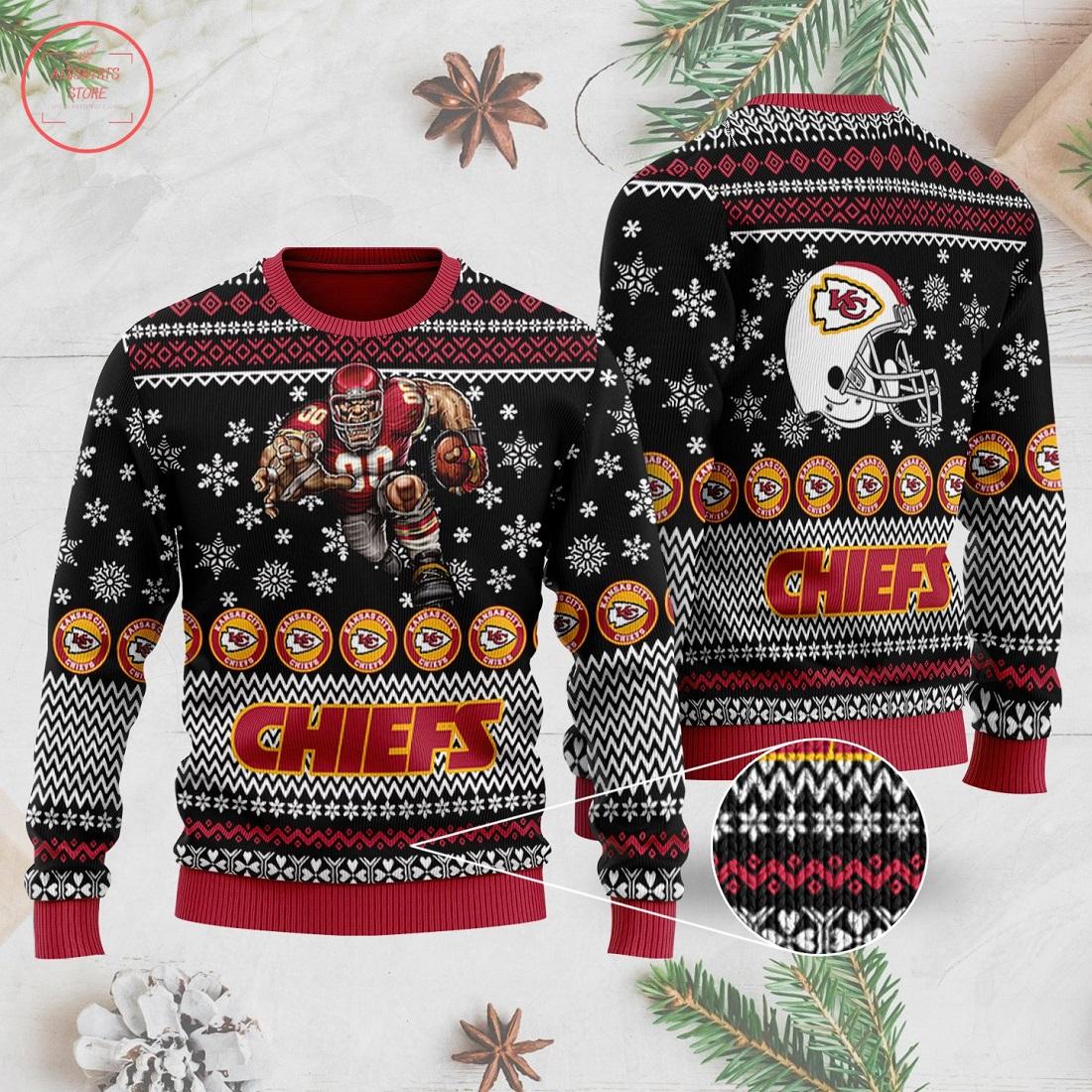 NFL Kansas City Chiefs Ugly Christmas Sweater