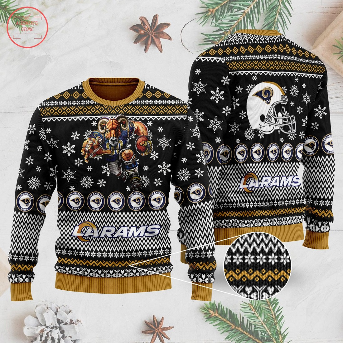 NFL Los Angeles Rams Ugly Christmas Sweater